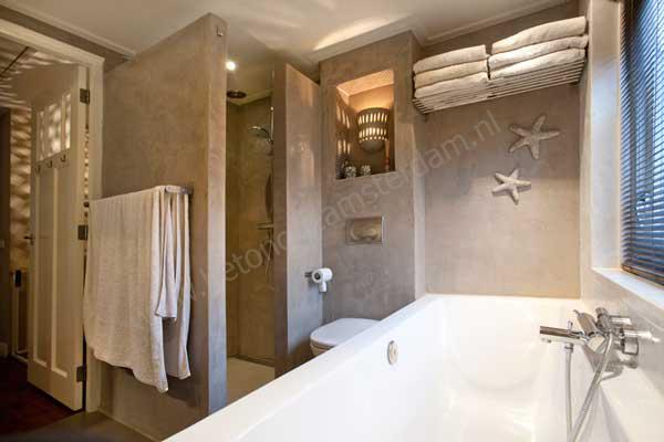 Badkamer Met Betonstuc  Bolks afbouw betonstuc badkamer  Sydati betonstuc badkamer kosten