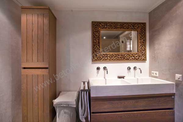 Badkamer Met Betonstuc : Foto s beton ciré beton stucwerk reitsma badkamers